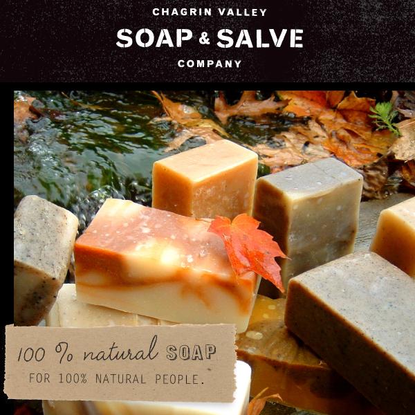 Chagrin Valley Soap & Salve - Luksusboblen